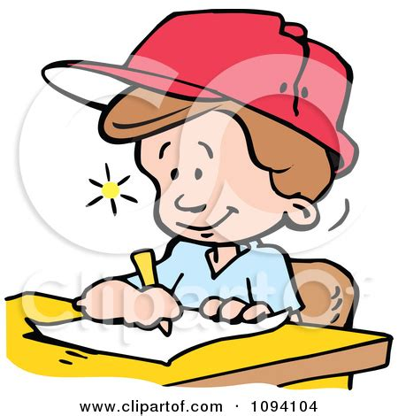 Writing Clip Art Illustrations - Clipart Guide
